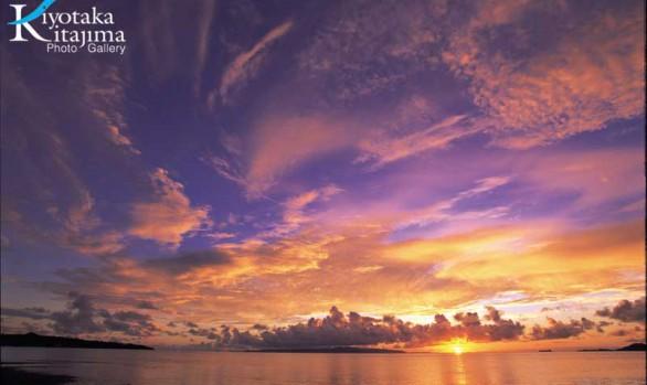 Purple & Orange sky