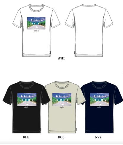 BILLABONGコラボTシャツ 小浜島バージョン